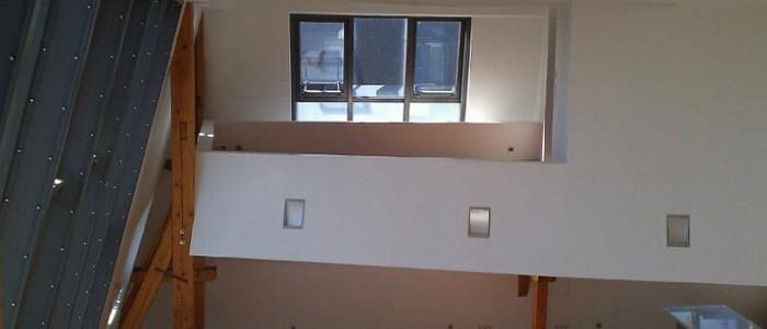 Dachgeschossaus- und -umbauten